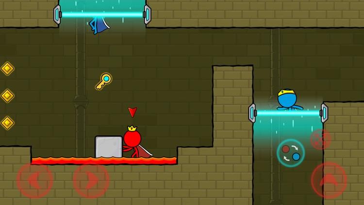 冰与火: 森林迷宫(Red & Blue Stickman) screenshot-3
