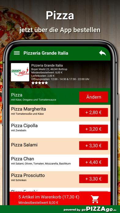 Pizzeria Grande Italia Bottrop screenshot 5