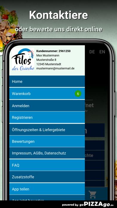 Filos der Grieche München screenshot 5