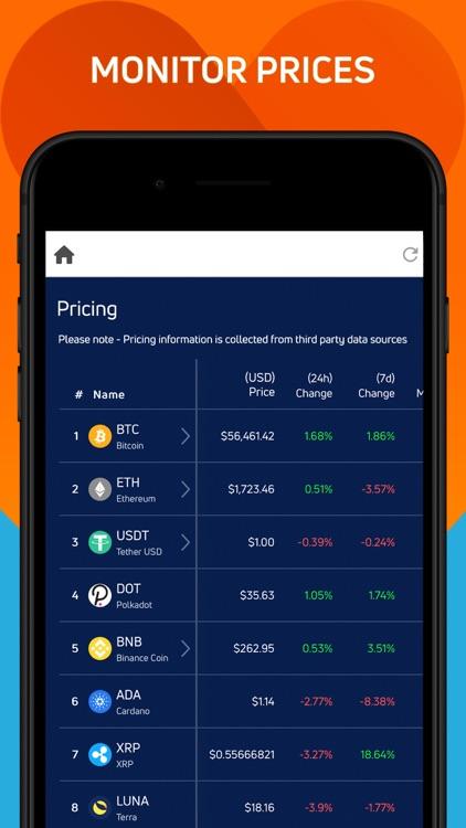 Jaxx Liberty Crypto Wallet screenshot-3