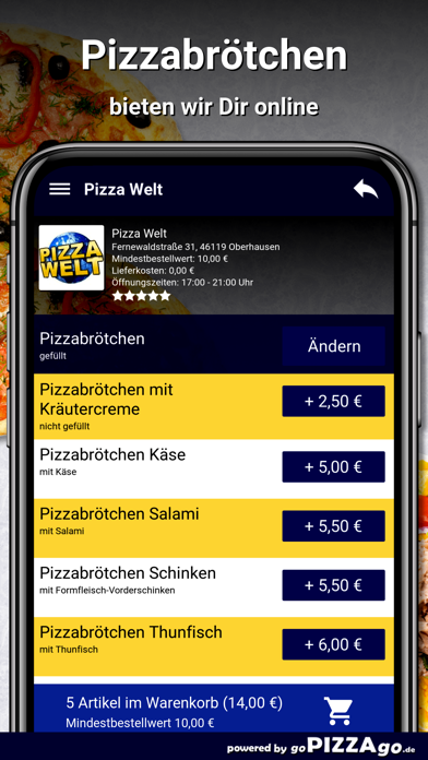 Pizza-Welt Oberhausen screenshot 5