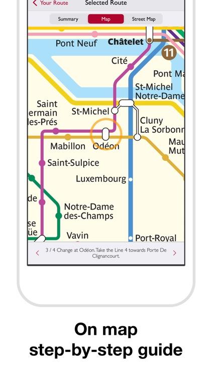 Paris Metro Map and Routes