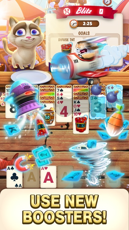 Solitaire Pets Adventure screenshot-2