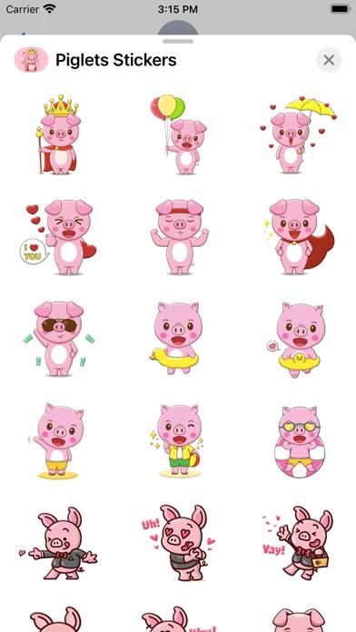 Piglets Stickers screenshot 3