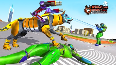 Angry Wolf Robot Battle Game紹介画像2