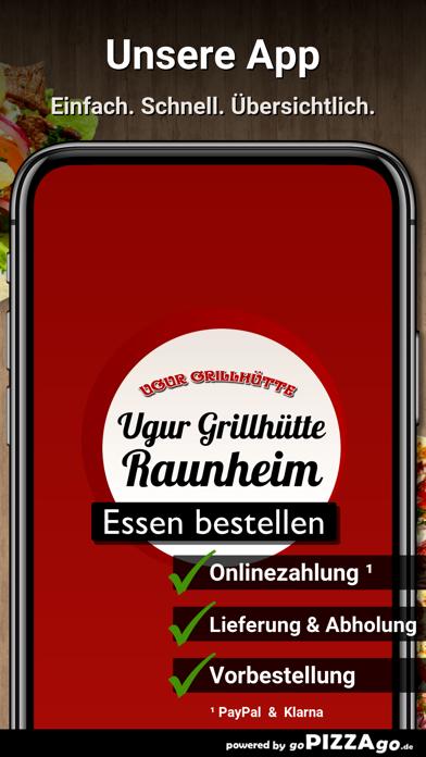 Ugur-Grillhütte Raunheim screenshot 1