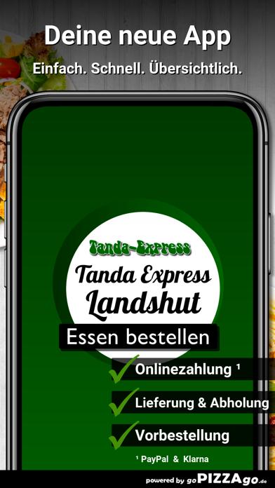 Tanda-Express Landshut screenshot 1