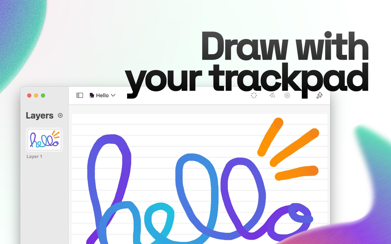 Screenshot do app Magic - Drawing app