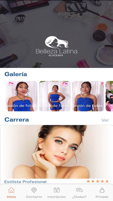 Screenshot 2 of Academia Belleza Latina App