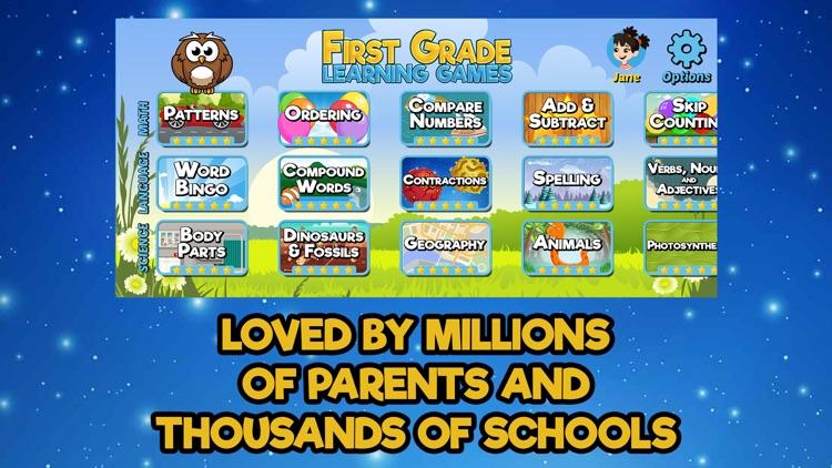 First Grade Learning Games screenshot-3