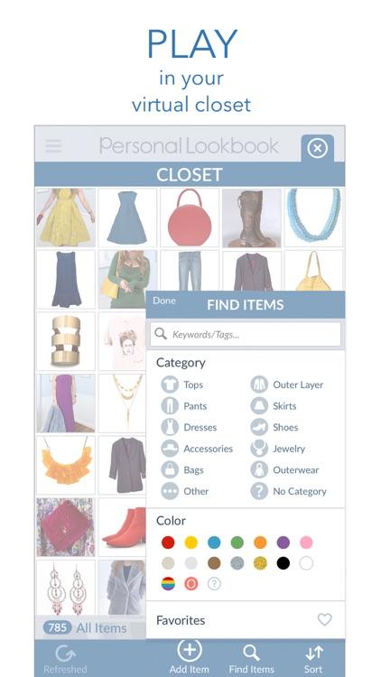 Personal Lookbook & Closet screenshot-3