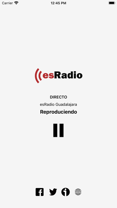 esRadio Guadalajara Screenshot