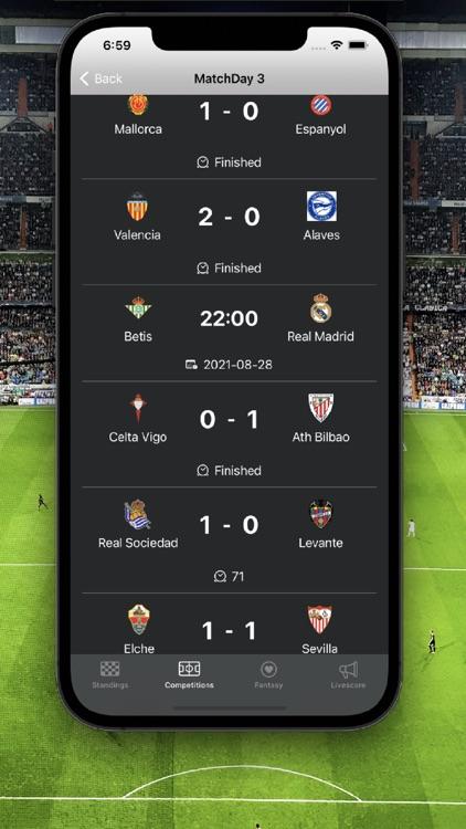 La Liga Football Scores
