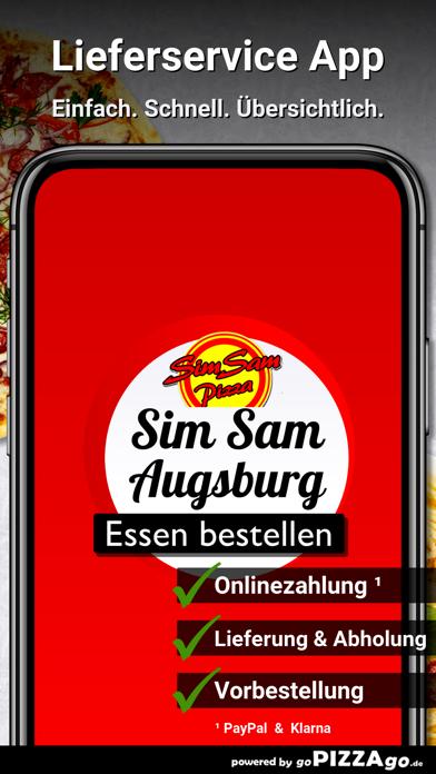 Pizza Sim Sam Augsburg screenshot 1