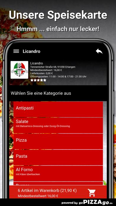 Licandro Erlangen screenshot 4