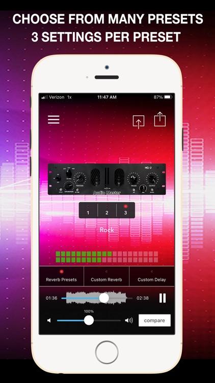 AudioMaster: Audio Mastering screenshot-3