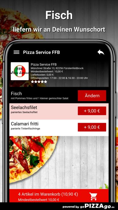 Pizza Service FFB Fürstenfeldb screenshot 6