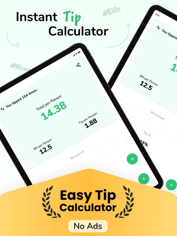 Tip - Calculator & Bill split screenshot 5