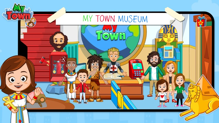 My Town : Museum History