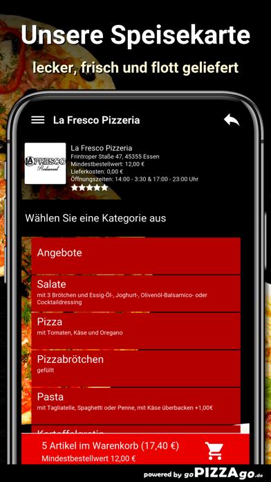 La Fresco Pizzeria Essen screenshot 4