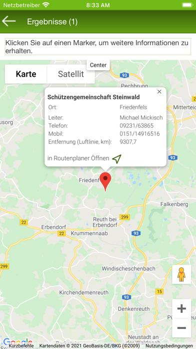BJV Schießstand Suche screenshot 4