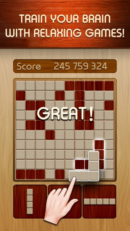Woody Block Puzzle Brain Game screenshot-5