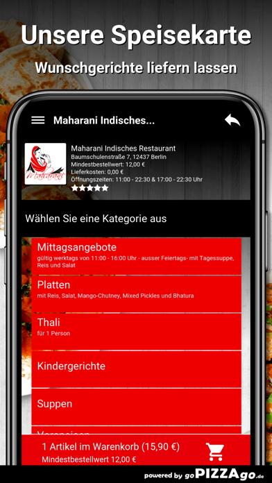 Maharani Berlin screenshot 4