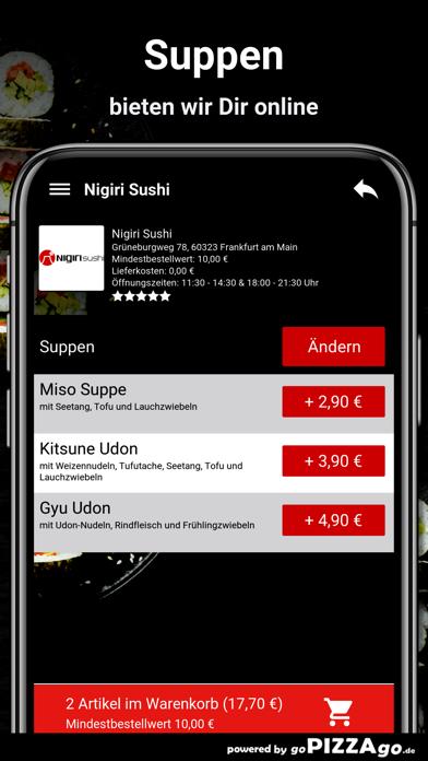 Nigiri Sushi Frankfurt am Main screenshot 5
