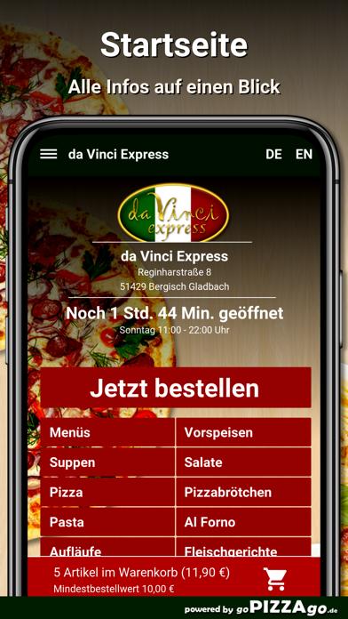 Da Vinci Bergisch Gladbach screenshot 2