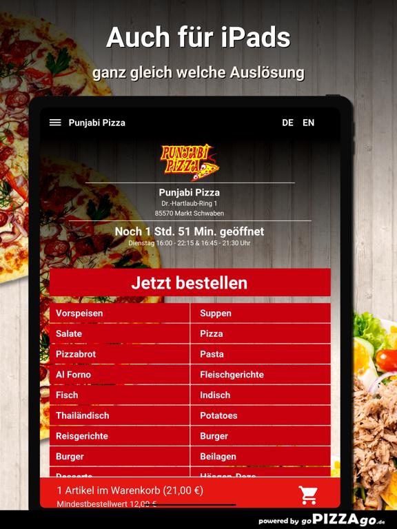 Punjabi-Pizza Markt Schwaben screenshot 7