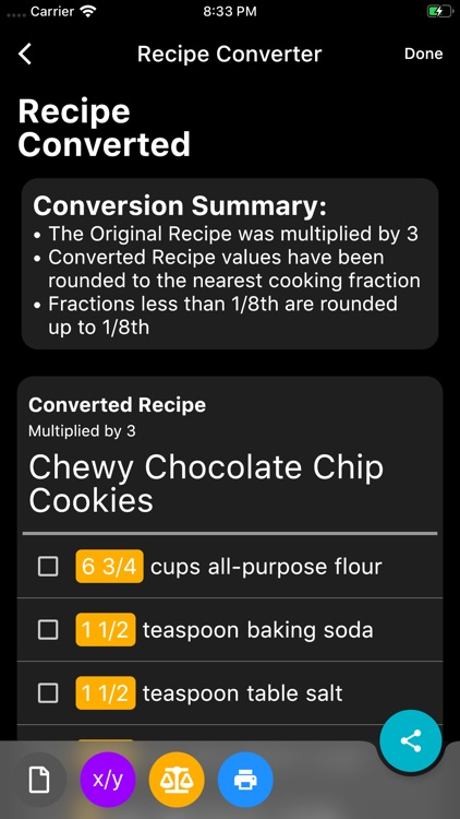 My Kitchen Calculator screenshot-4