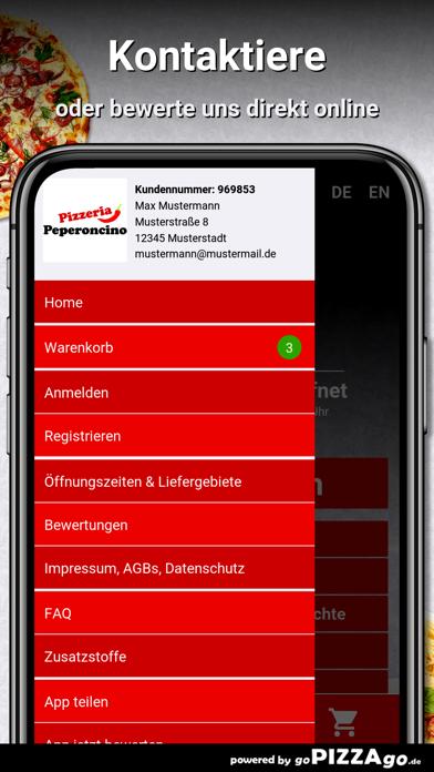 Pizzeria Peperoncino Darmstadt screenshot 3