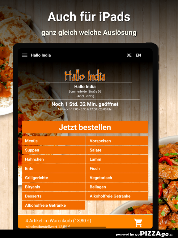Hallo India Leipzig screenshot 7