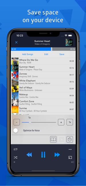 CloudBeats ‣ music player mp3 Screenshot
