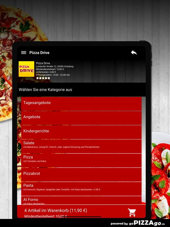 Pizza Drive Grünberg screenshot 8