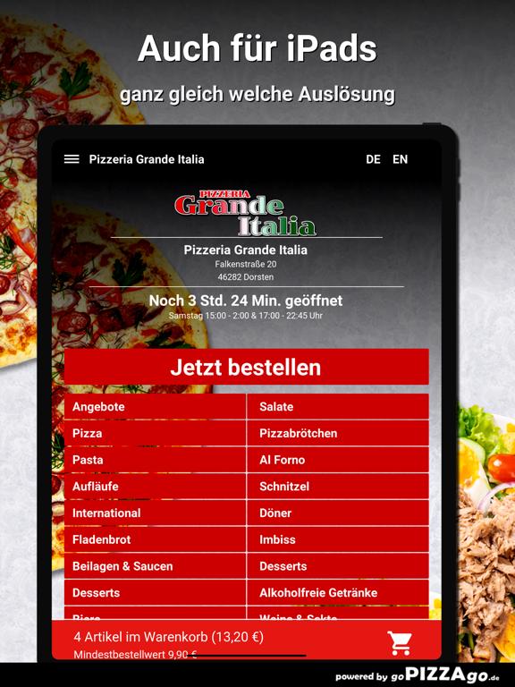 Pizzeria Grande Italia Dorsten screenshot 7