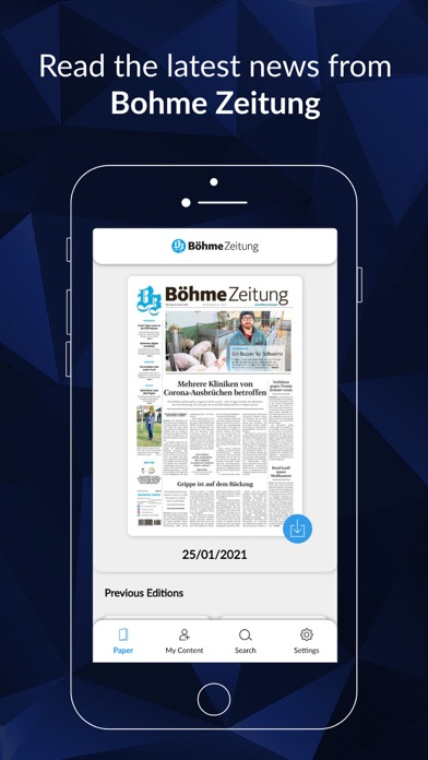 Böhme-Zeitung screenshot 1
