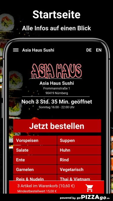 Asia-Haus Sushi Nürnberg screenshot 2