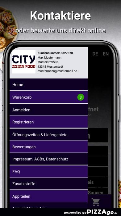 City Asian Food Bremen screenshot 3