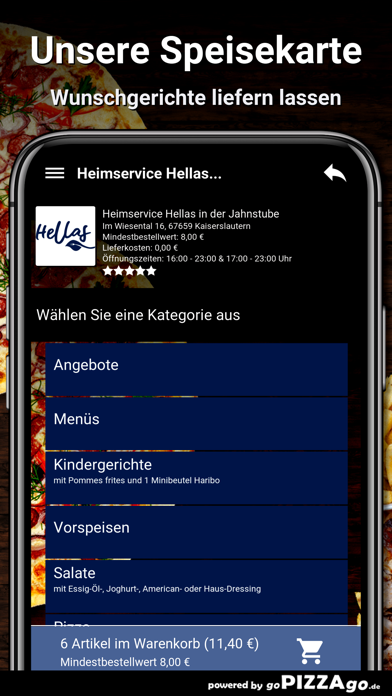 Hellas Kaiserslautern screenshot 4