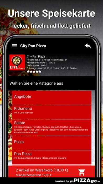 City Pan Pizza Recklinghausen screenshot 4