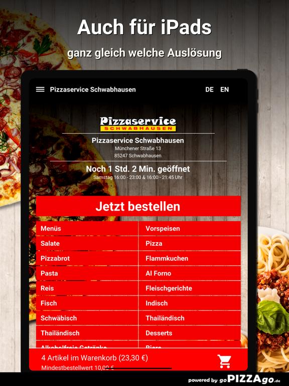 Pizzaservice Schwabhausen screenshot 7