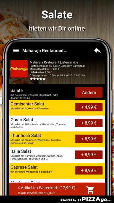 Maharaja Restaurant Liefer screenshot 5