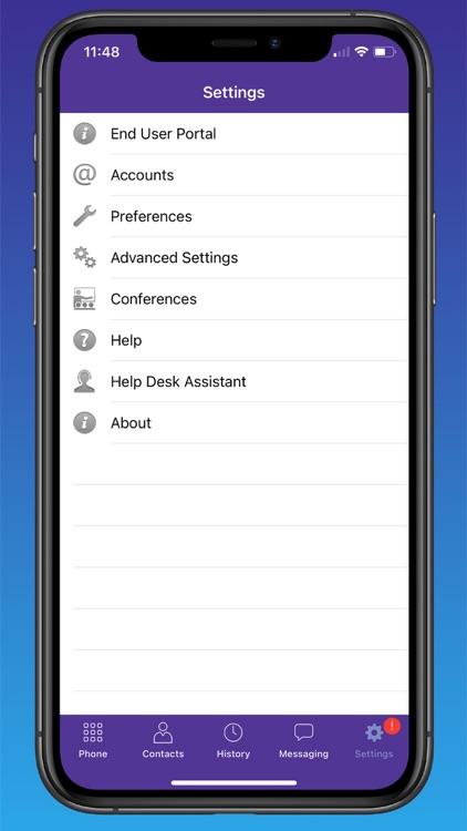 Quantum Fiber Connected Voice screenshot-3