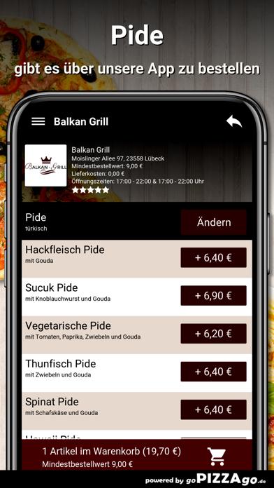 Balkan-Grill Lübeck screenshot 6