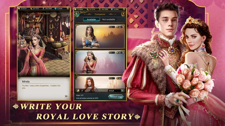 Game of Sultans - Royal Pets