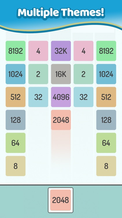 X2 Blocks – Merge Numbers 2048 screenshot-3