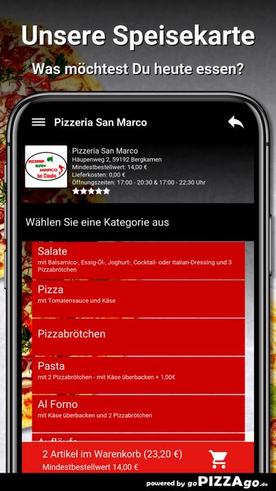 Pizzeria San Marco Bergkamen screenshot 4