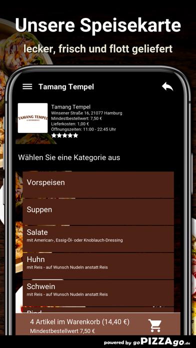 Tamang-Tempel Hamburg screenshot 4