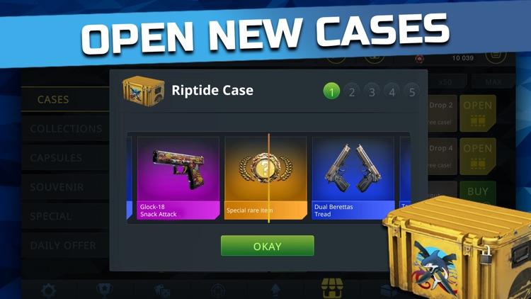 Case Chase - CSGO Case Clicker